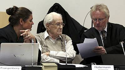 'Accountant of Auschwitz' Holocaust trial begins in Germany