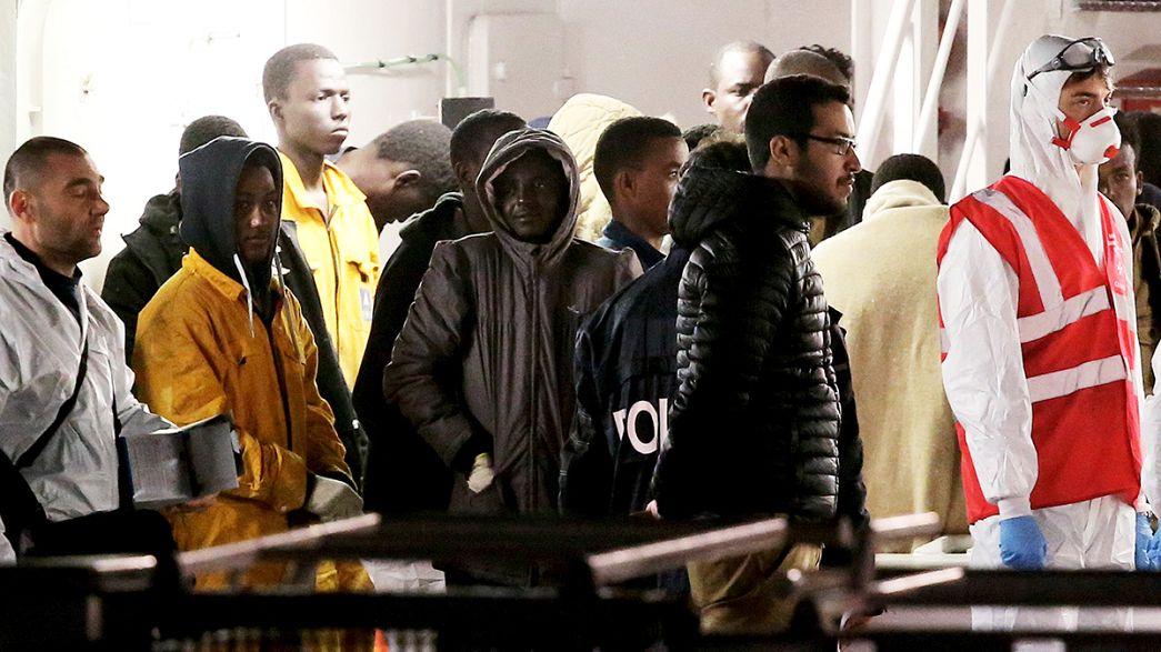 """Migrants : """"avril 2015, mois le plus cruel en Méditerranée"""", selon l'OIM"""