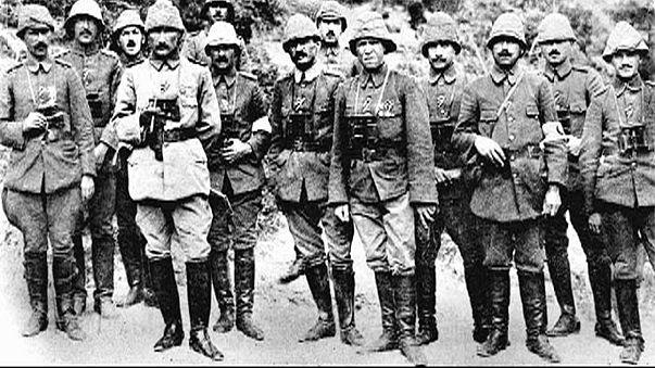 Im Gedenken an die Schlacht um Gallipoli