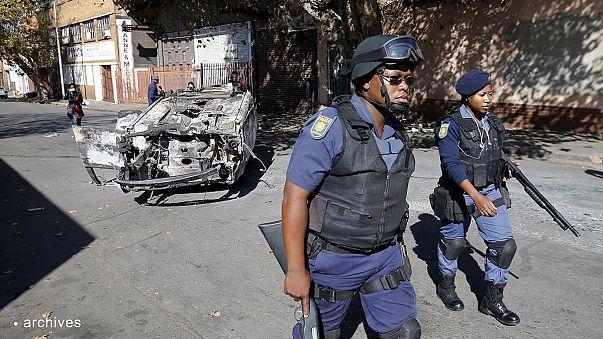 تعزيزات للشرطة بعد اعمال جديدة ضد اجانب في جوهانسبرغ