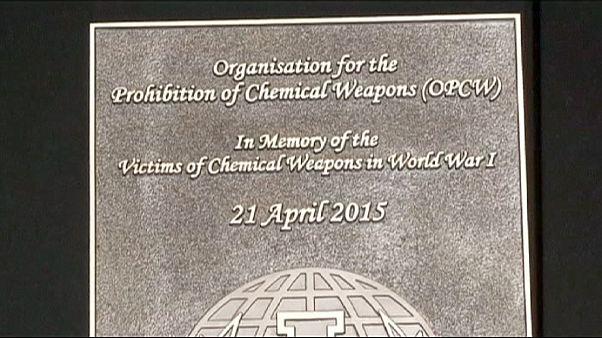 Megemlékezés az első gáztámadás 100. évfordulóján