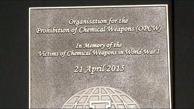 بلجيكا: إحياء الذكرى المئوية لأول استخدام للأسلحة الكيماوية
