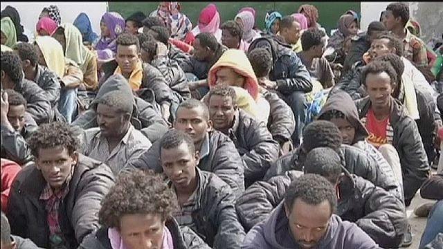 اعتقال مئات المهاجرين بليبيا ومجلس الامن يعرب عن قلقه من عمليات تهريب البشر بالمتوسط