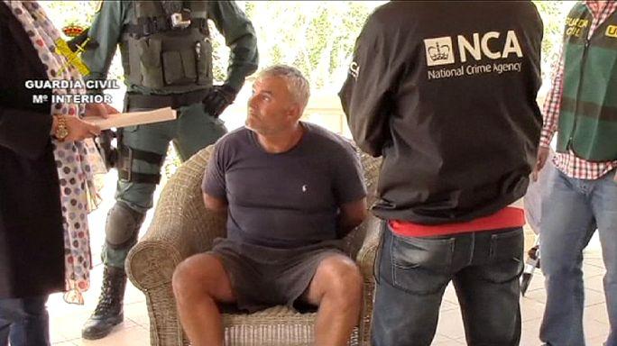 Elfogták a legkeresettebb brit bűnözőt