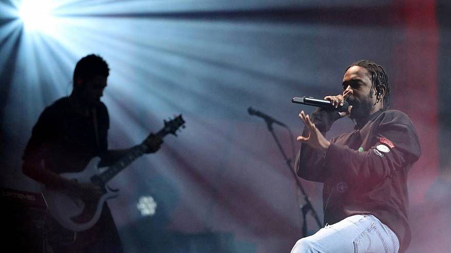 Image:  Kendrick Lamar performs at the Global Citizen Festival at Central P