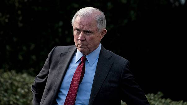 Image: Attorney General Jeff Sessions at the White House