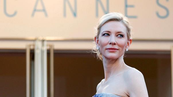 Image: FILE PHOTO: Cast member Cate Blanchett poses on the red carpet as sh