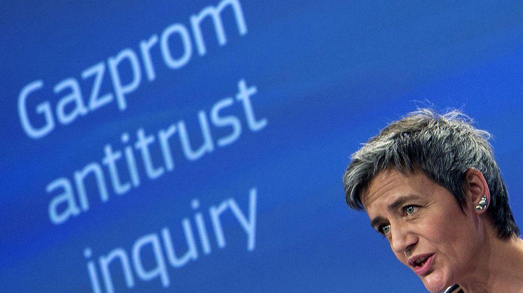 La Comisión Europea acusa a Gazprom de abuso de poder en Europa central y oriental