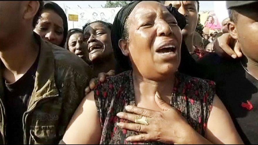 Una manifestación contra el autoproclamado Estado Islámico acaba en actos violentos en Etiopía