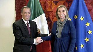 La UE y México refuerzan sus relaciones en Bruselas