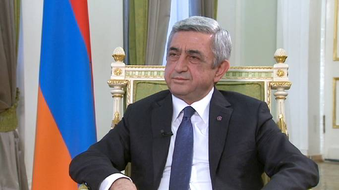 'They did not succeed in erasing us from the earth': Armenian president interview
