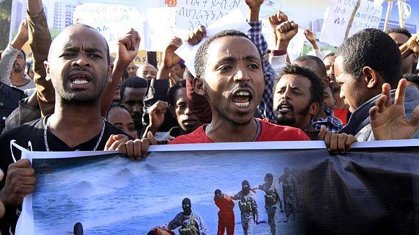 Etiópia: Manifestação pacíficia antiterrorismo acaba em confrontos violentos