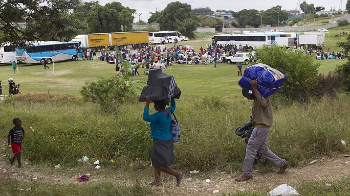 South Africa 'rainbow nation' violence driving immigrants out