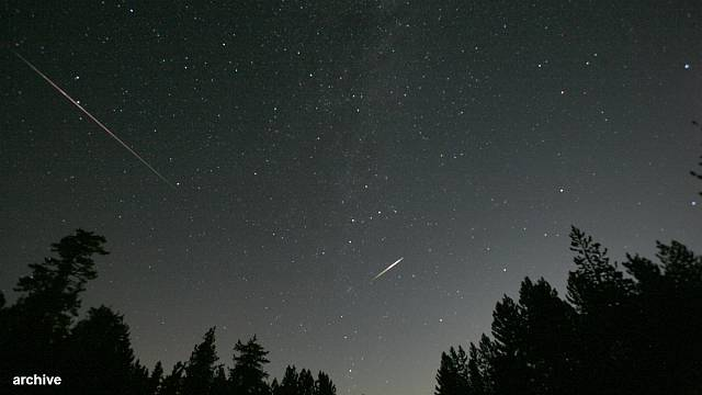 Europe 'best-placed for meteor shower'