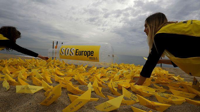 SOS Europe! Af Örgütü göçmen ölümlerini böyle protesto etti