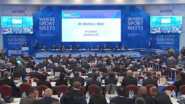 Soçi'deki kongreye SportAccord ve Olimpiyat Komitesi arasındaki gerginlik damga vurdu