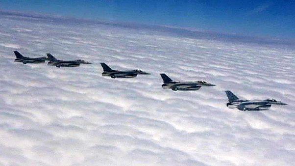 از سر گیری حملات هوایی ائتلاف عربی به یمن