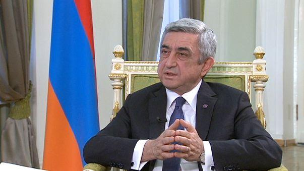 """Armenischer Präsident: """"Den Genozid anzuerkennen, wäre der schnellste Weg zur Versöhnung"""""""