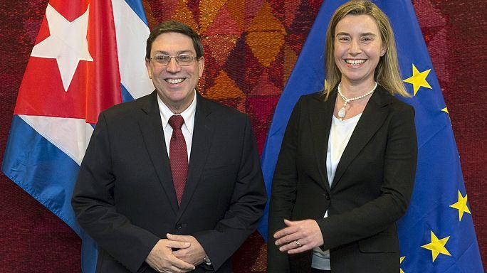 كوبا تتابع تطوير و تحسين علاقتها بالاتحاد الاوروبي