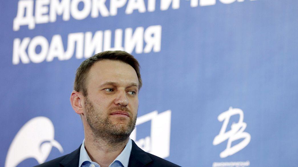 Primera rueda de prensa de la nueva fuerza opositora rusa