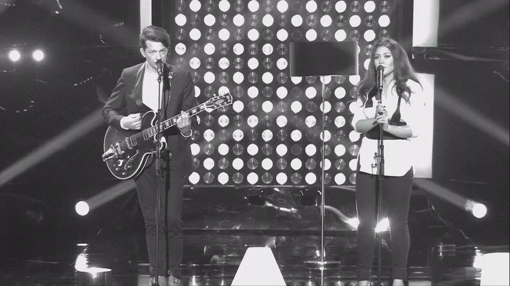 Elina Born y Stig Rästa representarán a Estonia en el Festival de Eurovisión