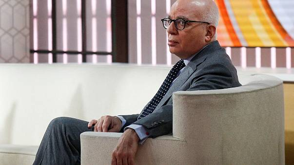 Image: Author Michael Wolff is seen on the set of NBC's 'Today' show prior