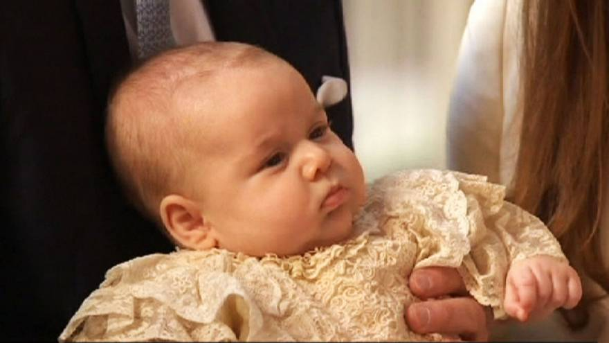 Baby George for Saint George's Day