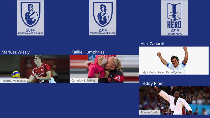 SportAccord-euronews-Preis: Wlazly und Humphries gewinnen