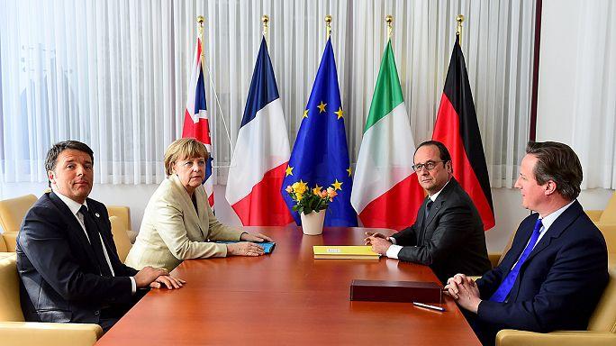 القادة الاوروبيون يتوافقون على زيادة الامكانيات المادية لمهمة تريتون في البحر الابيض المتوسط