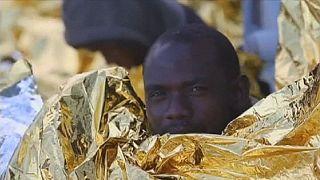 Rescatados 220 inmigrantes en dos lanchas