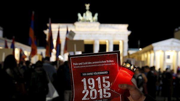 Az örmények tömeges meggyilkolására emlékeztek Berlinben