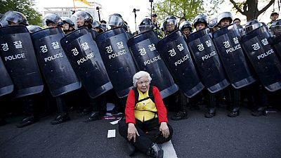 Südkorea: Bis ins hohe Alter Widerstand leisten