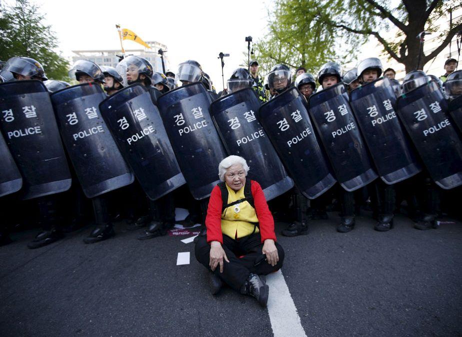 Grève en Corée du Sud : la barrière de l'âge