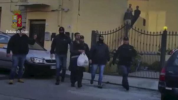 İtalya'da geniş çaplı terörle mücadele operasyonu