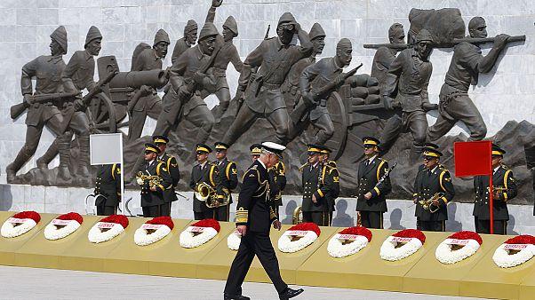 La Turchia celebra in grande stile la battaglia di Gallipoli