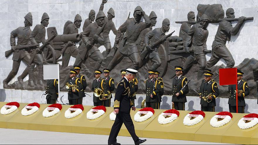 Schlacht um Gallipoli: Erdogan und Gäste ehren Kriegstote