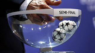بازیکنان مرحله نیمه نهایی لیگ قهرمانان اروپا حریفان خود را شناختند