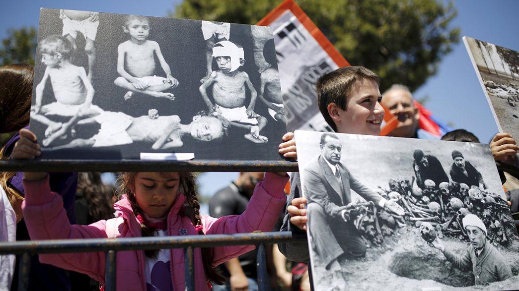Mondo: manifestazioni per ricordare genocidio armeno. Critiche ad Ankara