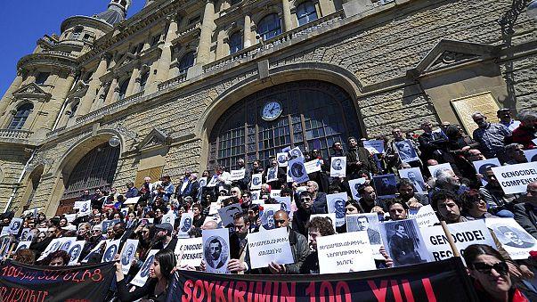 احياء ذكرى مجازر الأرمن بحضور رسمي تركي في اسطنبول