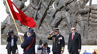 La Turchia celebra la battaglia di Gallipoli con un giorno d'anticipo