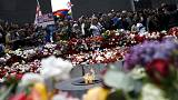 Ermenistan'da anma törenleri gece boyunca sürdü
