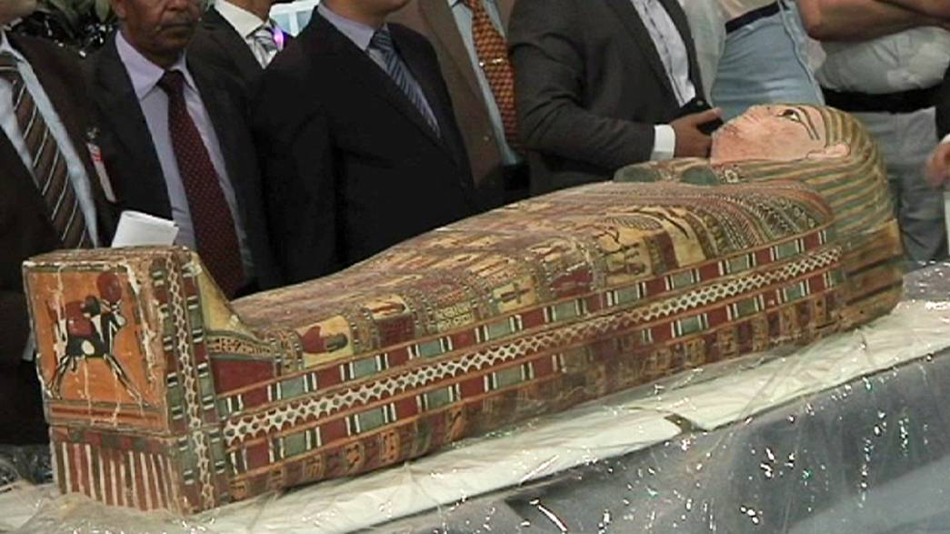 Egipto recucpera 123 piezas arqueológicas sacadas de contrabando a EE.UU