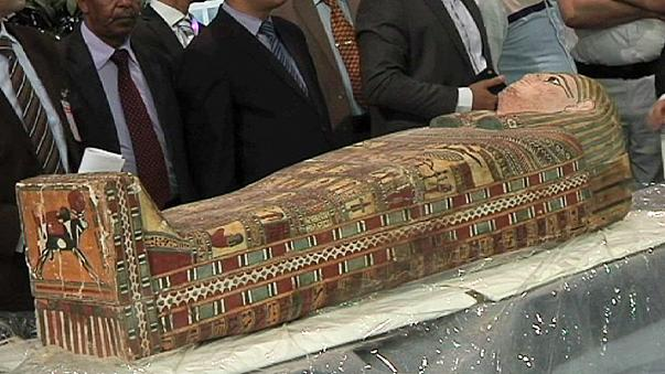Újra Egyiptomban vannak az onnan ellopott műkincsek