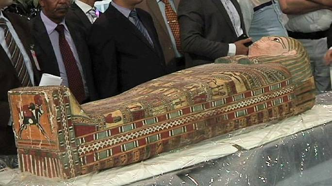 Relics return home: Egypt receives smuggled antiquities from US