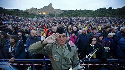 Dawn service at Gallipoli to mark ANZAC centenary