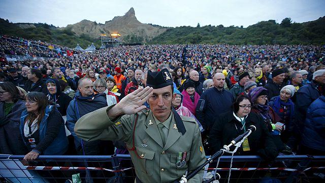 Gallipoli: a háborúkban elesettekre emlékeztek
