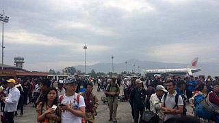 Many dead and injured after powerful quake in Nepal