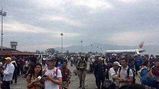 Violento terremoto in Nepal, almeno due vittime