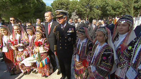 Le centenaire de la bataille des Dardanelles