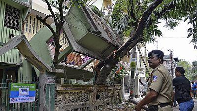 وحشت مردم هند از زلزله نپال